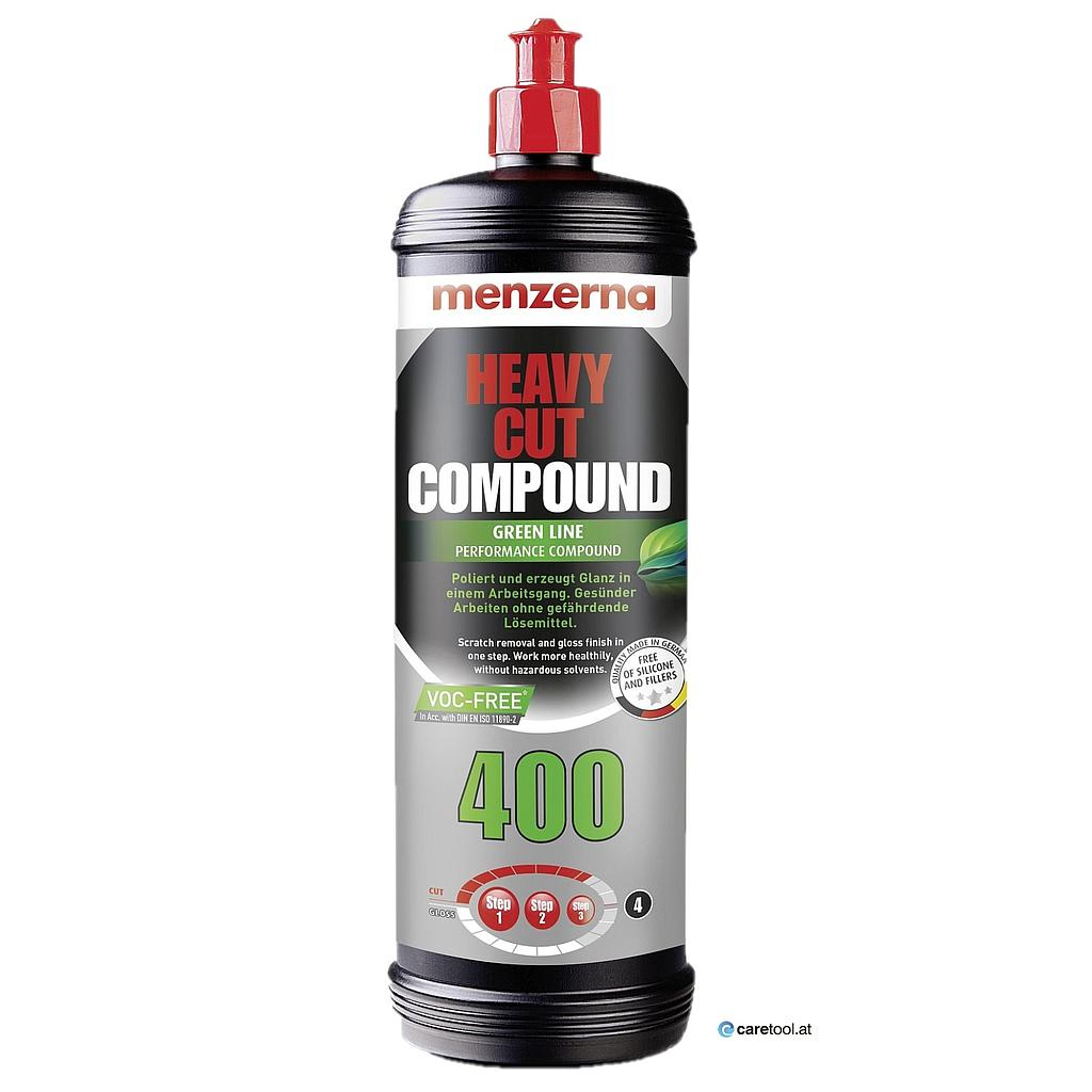 Menzerna Super Heavy Cut Compound 400 Green Line Politur, 1 Kg